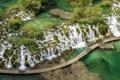 Картинка природа, каскад, Хорватия, Плитвицкие озёра, водопаж