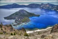 Картинка горы, природа, озеро, USA, кратер, Oregon, Crater Lake National Park