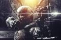 Картинка воин, лук, crysis 3, video game