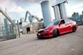 Картинка Subaru, Impreza, WRX, red, седан, красная, субару