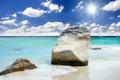 Картинка море, небо, облака, камни, побережье, sky, sea
