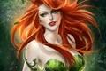 Картинка art, sakimichan, DC Comics, Poison Ivy