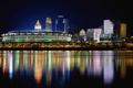 Картинка река, даунтаун, цинциннати, огайо
