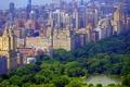 Картинка город, фото, Нью-Йорк, США, Central Park