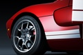 Картинка красный, Ford, red, диск, форд, rear