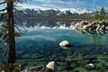 Картинка вода, природа, камни, дерево