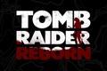 Картинка девушка, абстракция, фон, надпись, кровь, игра, Tomb Raider