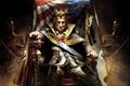 Картинка кресло, флаг, америка, трон, король, George Washington, Assassin's Creed III